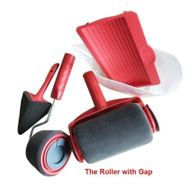 Set Diy Wall Paint Roller Brush Tools Pro Rosamiss In 2020 Paint Roller Diy Wall Painting Roller Brush