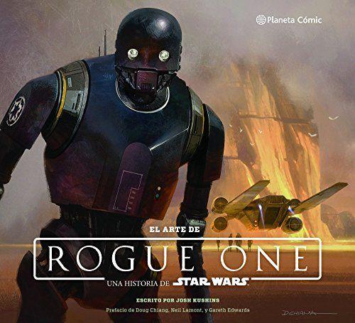 Libro ilustrado repleto de espectaculares imágenes de los trabajos de arte (decorados, borradores conceptuales, storyboards…), es un recopilatorio visual para los fans de Star Wars y los futuros cineastas. El Arte de Star Wars: Rogue One