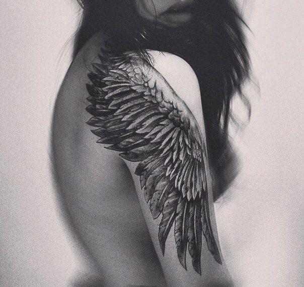 wing tattoo | Tumblr