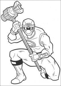 Imagens para pintar dos Power Rangers