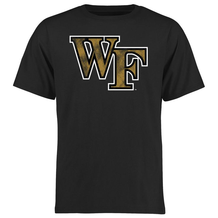 Wake Forest Demon Deacons Big & Tall Classic Primary T-Shirt - Black - $34.99