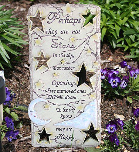 38 best memorial stones images on pinterest memorial stones memorial gardens and garden for Garden memorials for loved ones