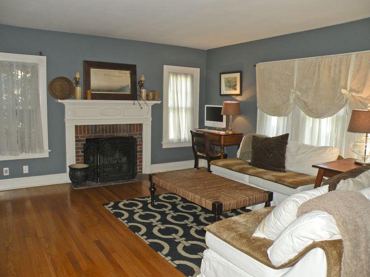 Fireplace Living Room Pinterest