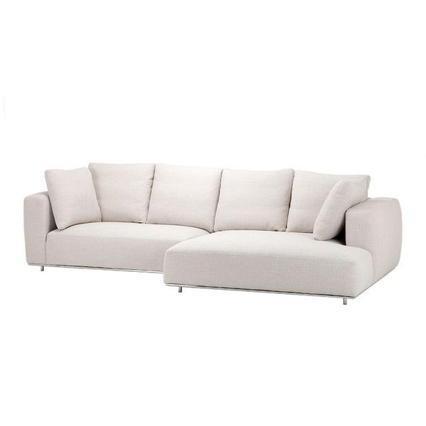 Eichholtz Sofa Colorado Lounge ($4,910) ❤ liked on Polyvore featuring home, furniture, sofas, l shaped sofa and l shaped couch