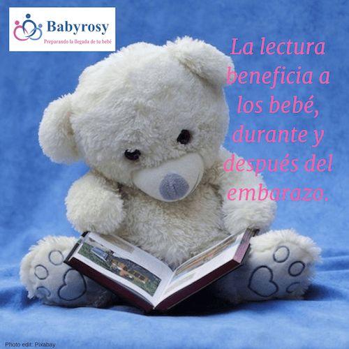 La lectura beneficia a los bebés durante y después del embarazo   Babyrosy