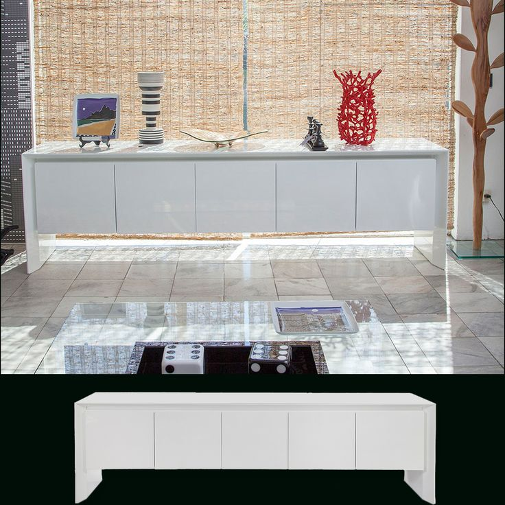Buffet Tay Design Arbel Reshef Estrutura em madeira e laca Várias opções de medidas e acabamentos