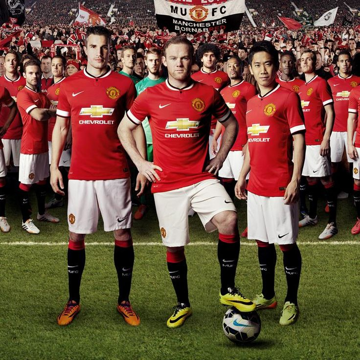Manchester United 2014/15 Home Kit