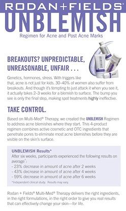 #rfskintervention #unblemish #beautifulskin Rodan + Fields Dermatologists. Ask me how to become a  Rodan and Fields consultant today!