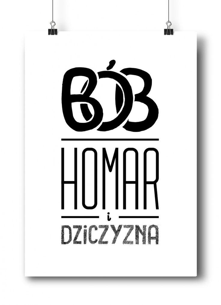 Bób, Homar i Dziczyzna | Plakat od TYPTYP
