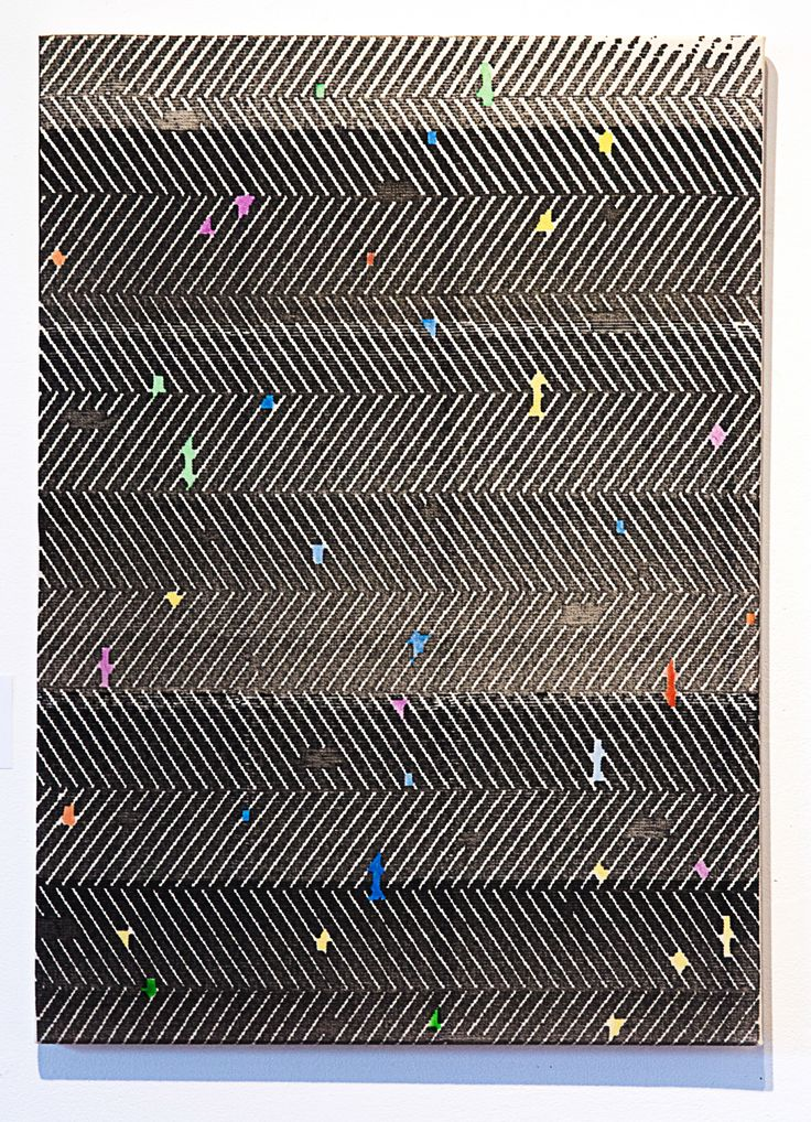 """exasperated-viewer-on-air: """" Natan Lawson - Untitled, 2015 sharpie and acrylic on raw canvas 32"""" x 23"""" """""""