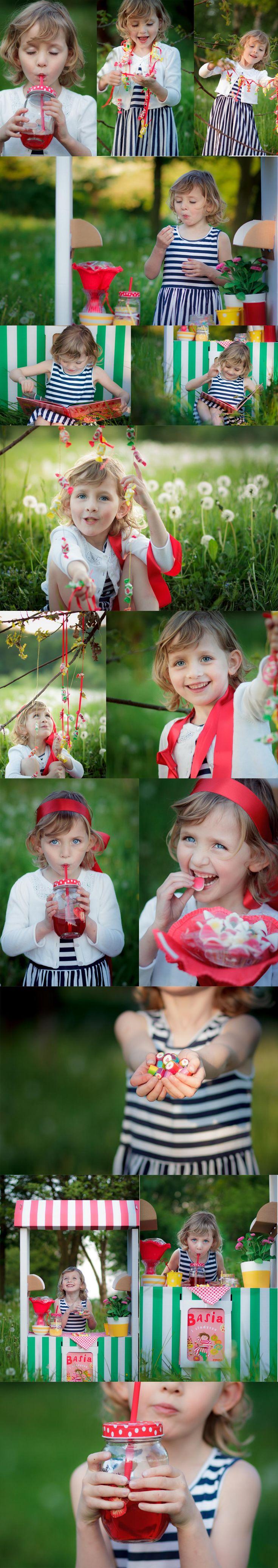 Basia i słodycze | http://krysiasudol.pl/sesja/basia-i-slodycze/