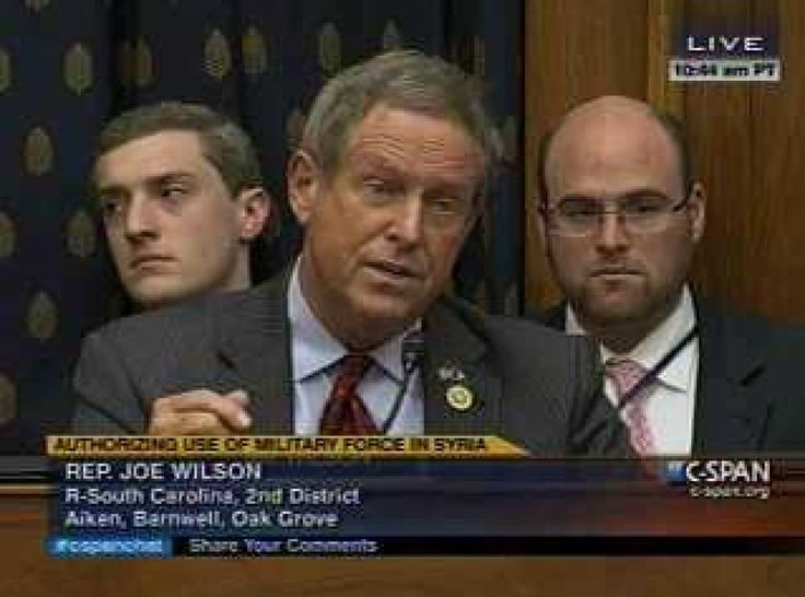 Joe Wilson's Conspiracy Theory On Why Obama Wants To Strike Syria....To Distract From Benghazi, Obamacare