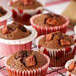 Cherry Ripe Muffins
