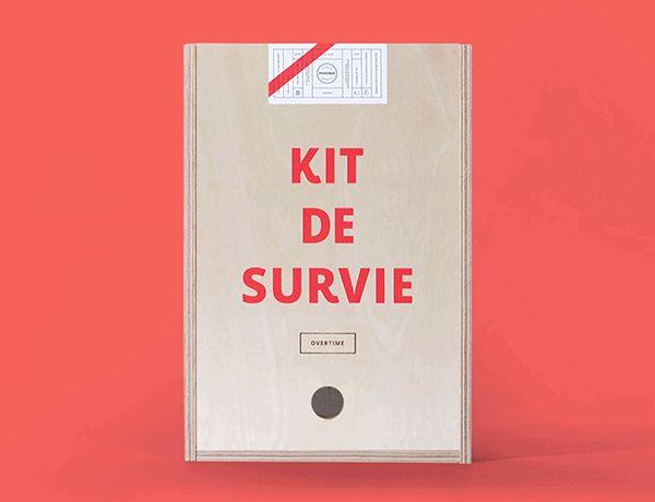 Agency Survival Kits / Kit de survie by Phoenix, the Creative Studio, via Behance