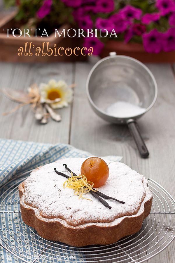 Torta morbida all'albicocca