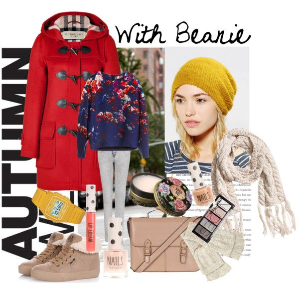 """Autumn with Beanie"" by peackapples on Polyvore"