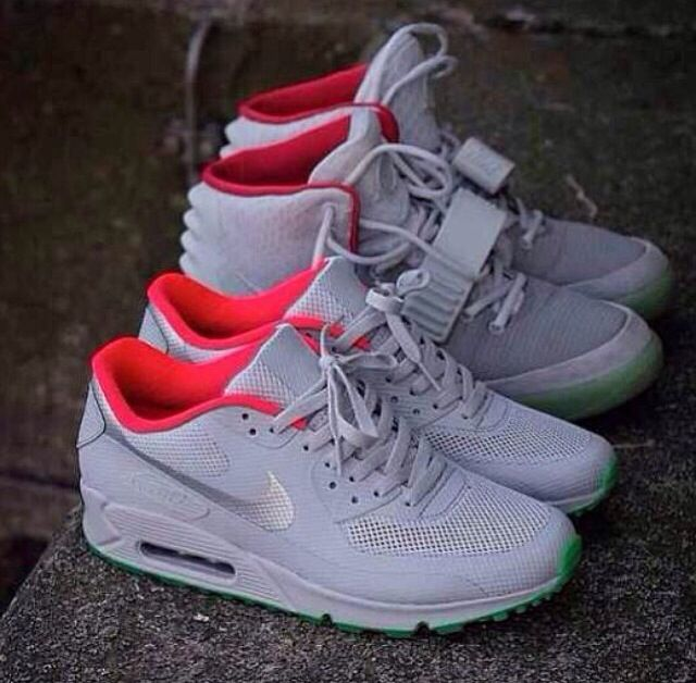 nike air max 90 hyperfuse solar red id holder