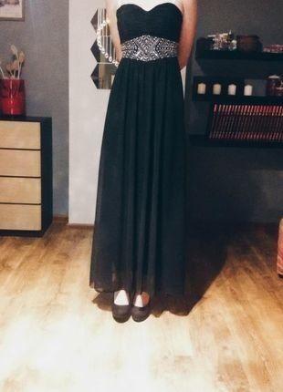 Kup mój przedmiot na #vintedpl http://www.vinted.pl/damska-odziez/dlugie-sukienki/15939758-czarna-elegancka-sukienka-idealna-na-studniowke