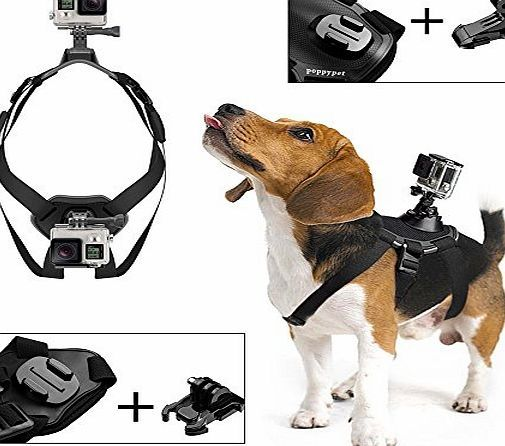 Poppypet Dog Harness Chest Mount Accessory Kit for GoPro Hero 4 3 3 2 1 and SJ4000 SJ5000 SJ6000 Gopro Chest No description (Barcode EAN = 0762640925388). http://www.comparestoreprices.co.uk/december-2016-week-1-b/poppypet-dog-harness-chest-mount-accessory-kit-for-gopro-hero-4-3 -3-2-1-and-sj4000-sj5000-sj6000-gopro-chest.asp