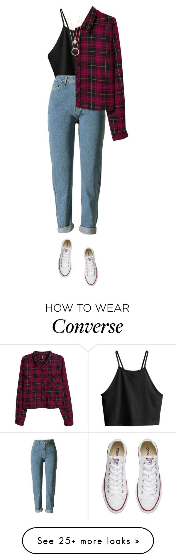 """Allen Barry // Imagine"" by mel2016 on Polyvore featuring H&M, Kate Spade, Converse, polyvoreeditorial, polyvorefashion and imaginemel"