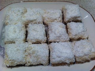 Healthy Thermomix Recipes: Lemon and Coconut Slice