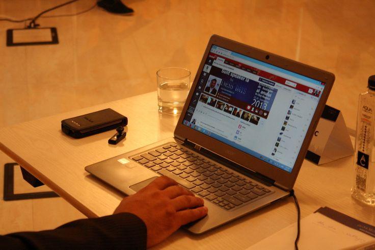 SiteTalk live at Cluj Napoca Social Media WorkShop