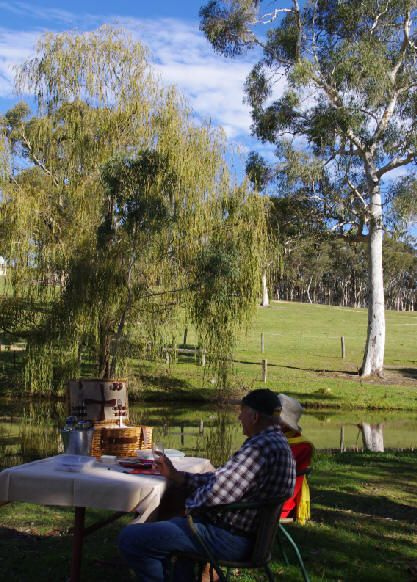 A Picnic in the Blue Mountains