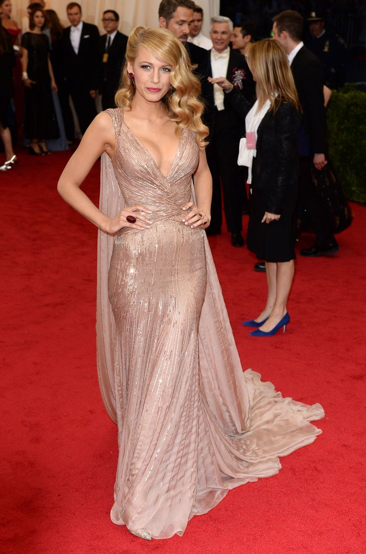 Blake Lively in Gucci at the 2014 Met Gala | Getty |  blog.theknot.com