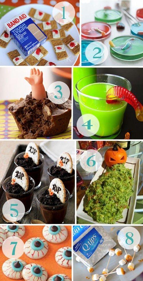 1000 images about halloween fun on pinterest pumpkins for Creative ideas for halloween treats
