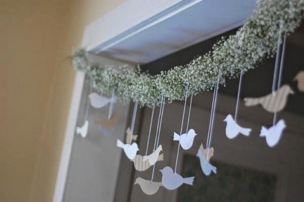 Princesas de Branco: Como Fazer Guirlanda Decorativa Para Casamento