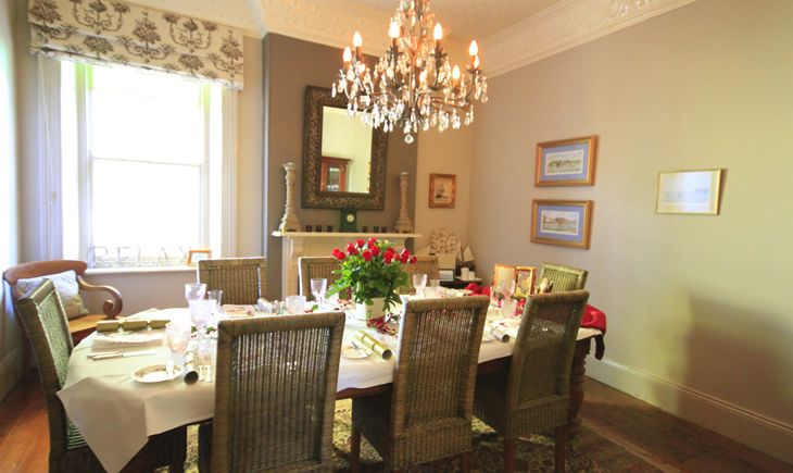 Lavender Majestic - The Dining Room