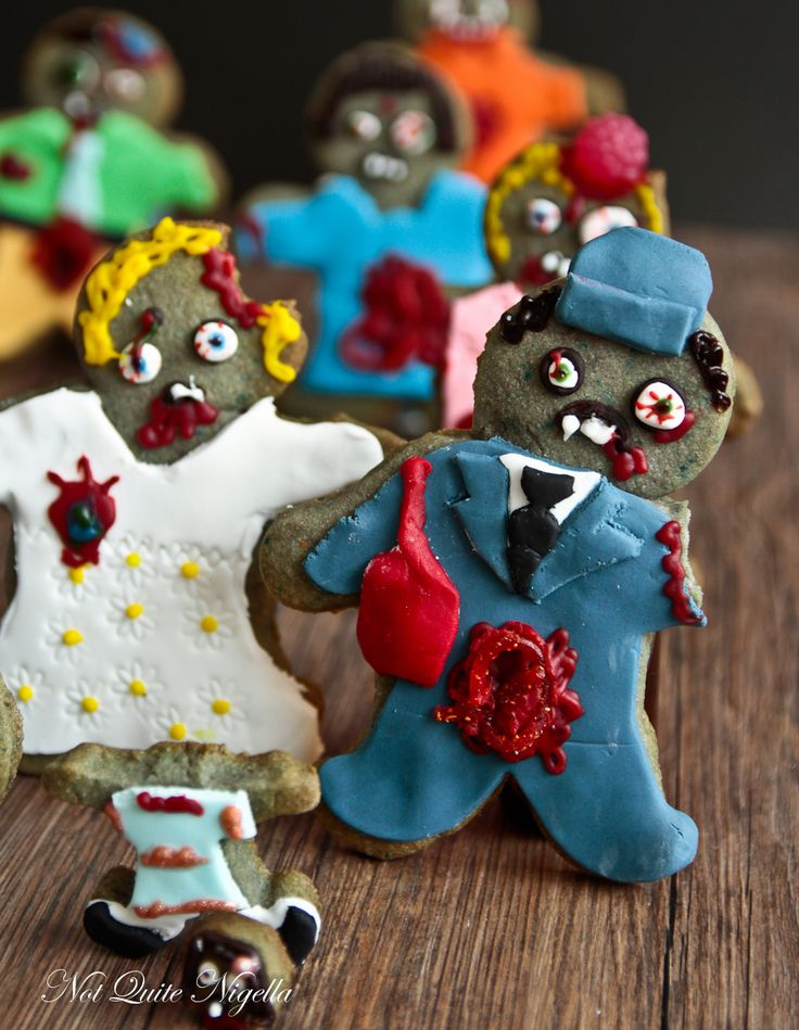 The Walking Dead Zombie Cookies
