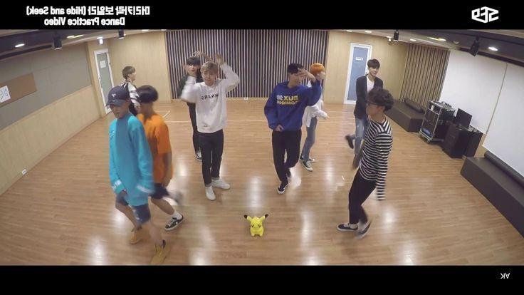 SF9 머리카락 보일라 (Hide and Seek) Dance Practice (Mirror)