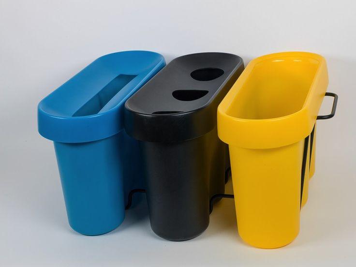 La poubelle 3 bacs Selectibox Tertio est ultra-personnalisable: vous choisissez la couleur des containers et des coiffes en fonction des déchets à collecter ou de vos envies ! http://www.selectibox.com