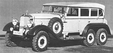 Ww2 era mercedes benz six wheeled g4 staff command car for Mercedes benz of hanover staff