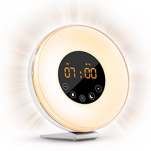 Wake-Up Light | Gift Ideas | Sunrise alarm clock, Light