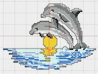 broderi opskrifter delfiner gratis - Google-søgning