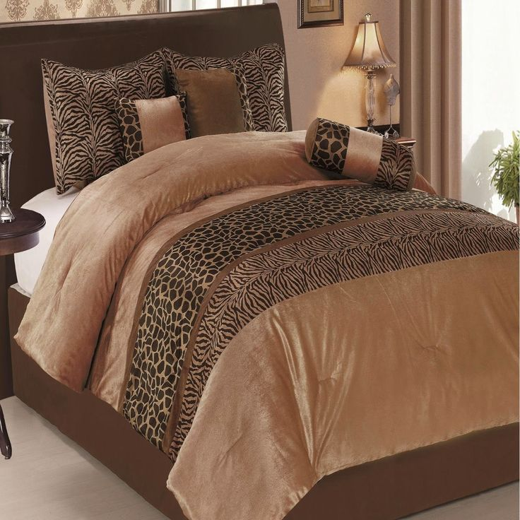 Bedroom Decor Ideas And Designs: Top Ten Animal Pattern Bedding Sets For  Adults