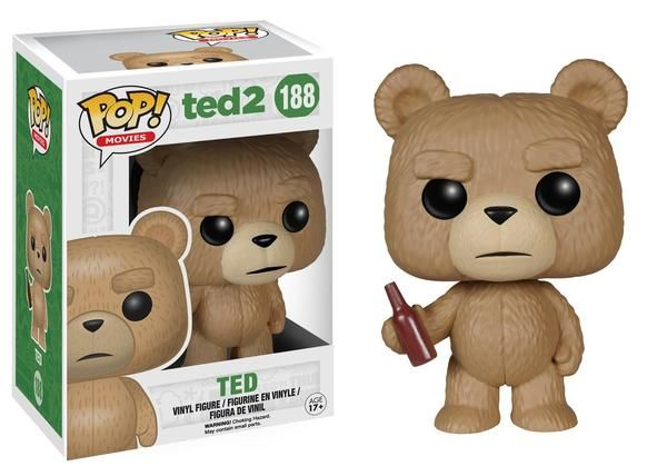 Ted With Beer Vinyl Figure : Ted is growing up and ready for commitment! However, in order to legally adopt a baby for he and his girlfriend, Tami-Lynn, he must first prove his personhood i