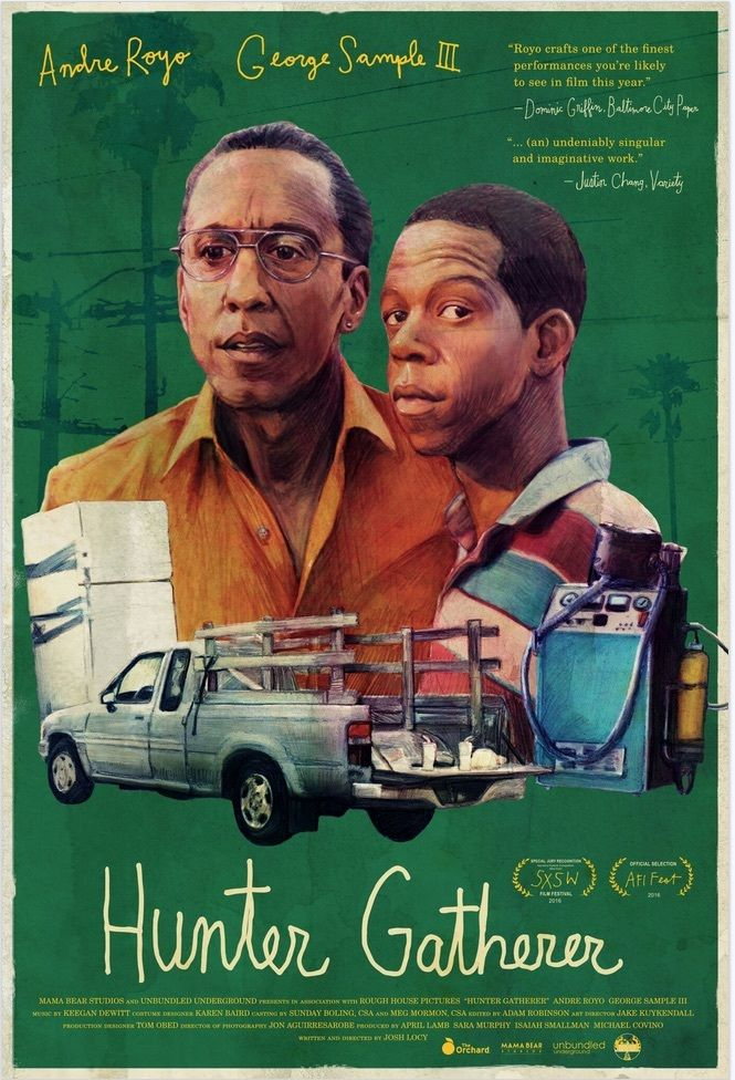 Andre Royo and George Sample III in Hunter Gatherer (2016)
