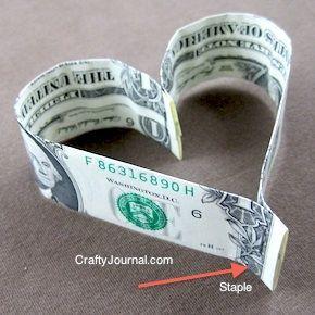 Easy Dollar Bill Heart – #bill #Dollar #dollarbill…