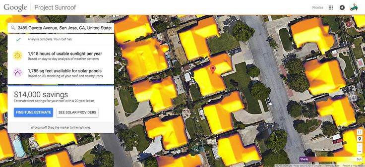 Project Sunroof: mapping the planet's solar energy potential, one rooftop at a time