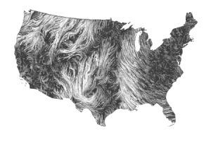Dynamic Wind Map Of The US So Pretty It Gives Me Chills Oh - Us current wind map