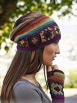 María Cielo: Gorros tejidos al crochet