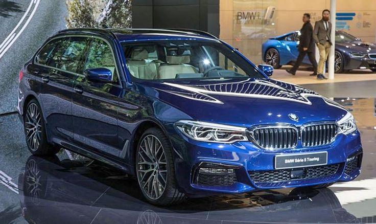 BMW 5-Series Touring 2017 ra mắt tại Geneva