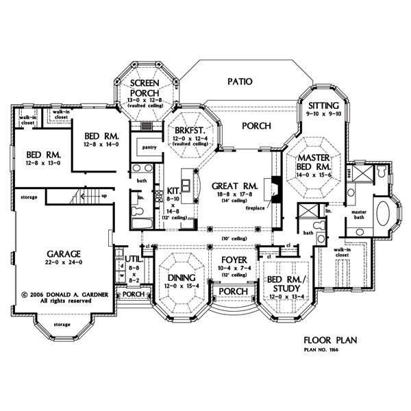 The kenningstone house plan images see photos of don for Don gardner floor plans