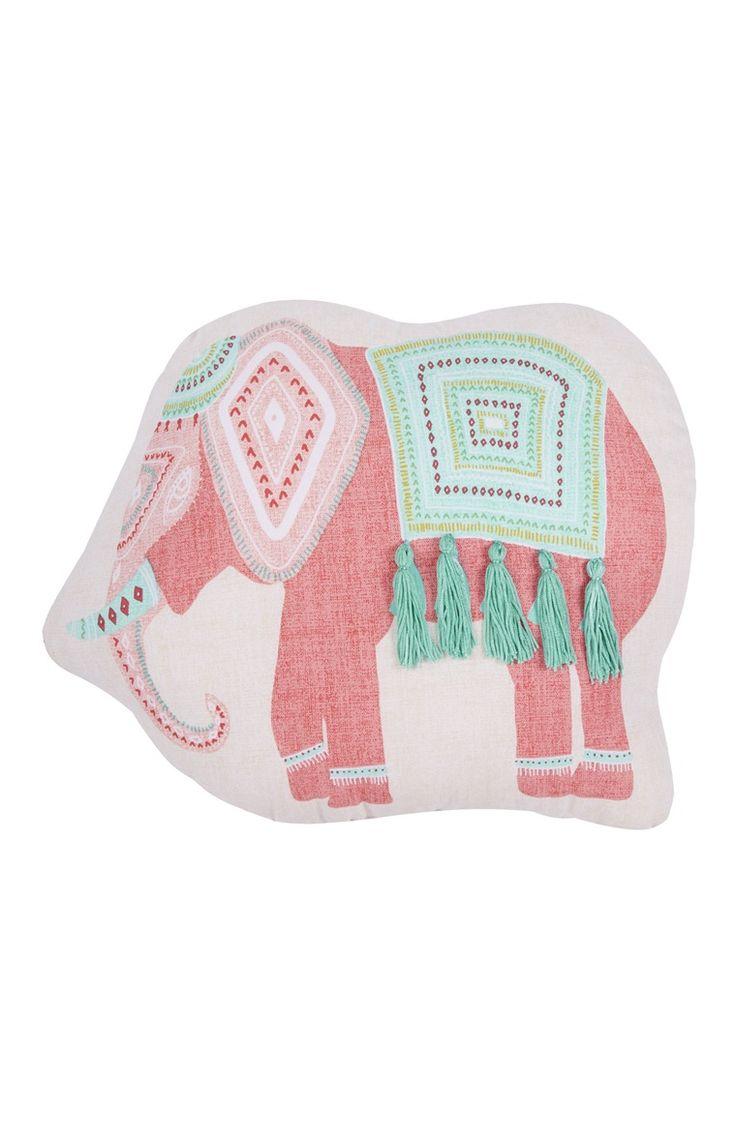Elephant-Shaped Cushion