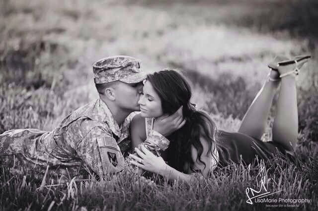 Military couples