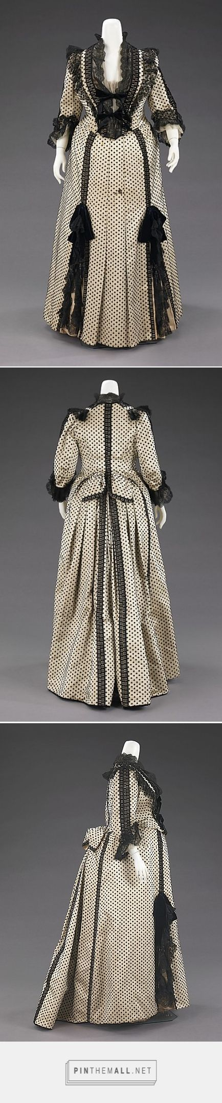 Dinner dress by House of Worth 1880-90 French | The Metropolitan Museum of Art