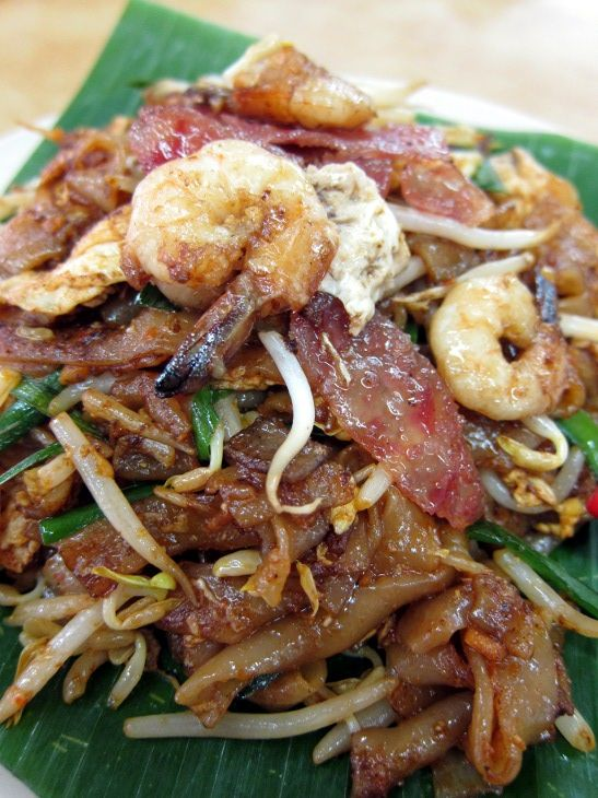 Char Kuey Teow. My favourite!! This one is from KL Malaysia